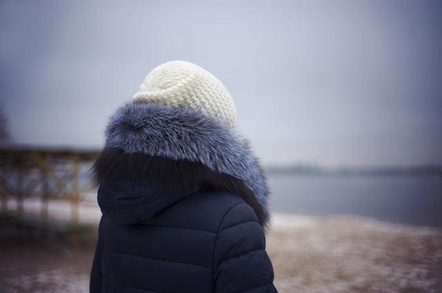 秋冬ファーファッション
