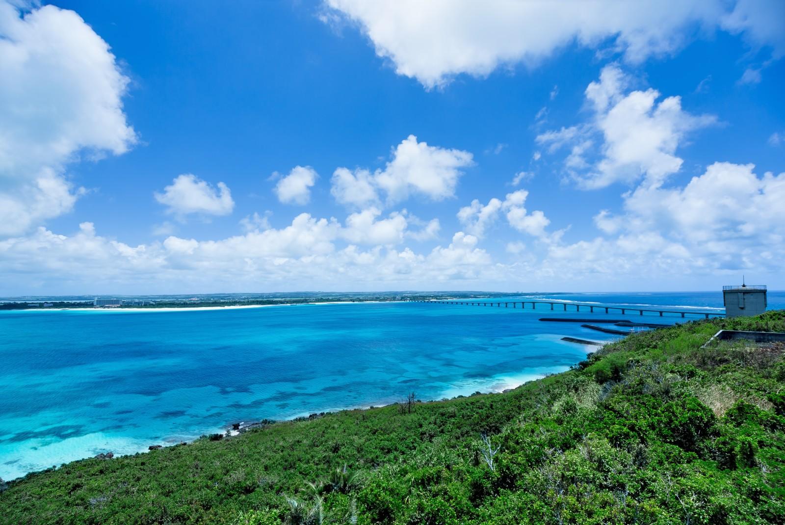 来間島の竜宮城展望台から見る絶景